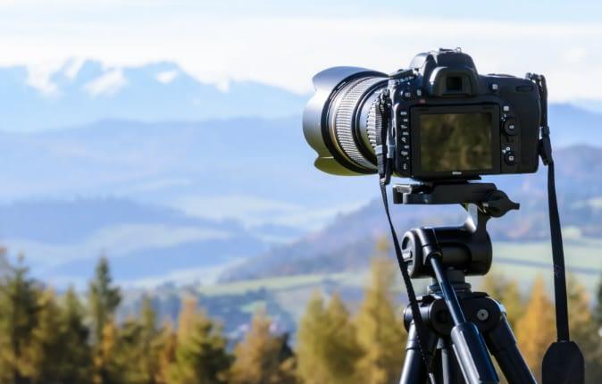 camera nature shoot